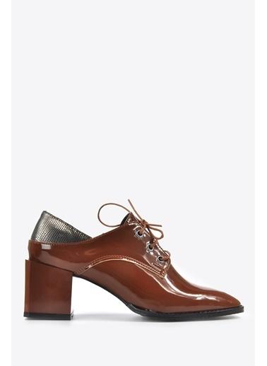 Vizon Ayakkabı Ayakkabı Taba